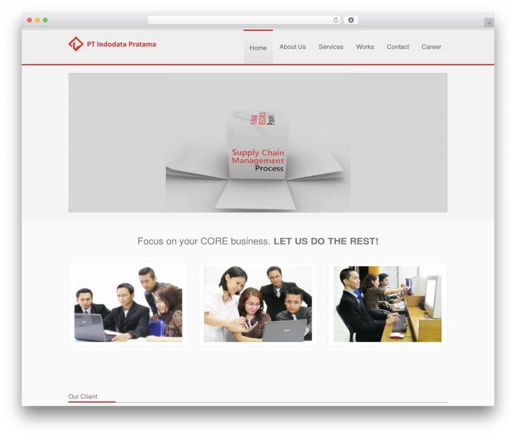 theme wordpress giới thiệu sản phẩm